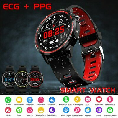 AU58.72 • Buy Waterproof Bluetooth Smart Watch Fitness Tracker For Andriod Samsung IPhone IOS