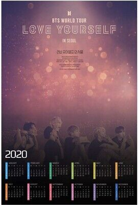 $5 • Buy Bts Love Yourself World Tour Poster 11x17