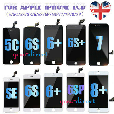 For IPhone 5 SE 6 6S 7 8 Plus  Screen Replacement LCD 3D Touch Digitizer Display • 13.99£