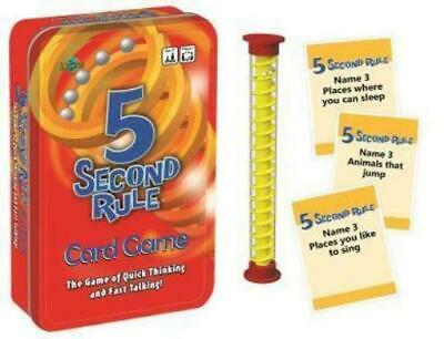 AU31 • Buy 5 Second Rule Tinned Game