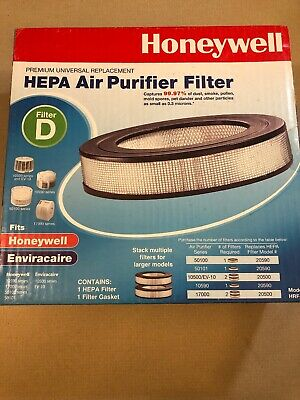 Honeywell HEPA Replacement Air Purifier Filter D - HRF-D1 • 23.14£