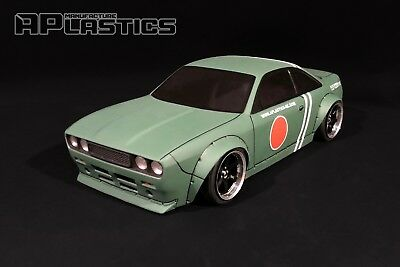 RC Body Car Drift 1:10 Nissan S14 Boss Challenger Nose Style APlastics New Shell • 27.24£
