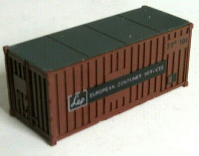Lima LEP European Container Services 20' HO Gauge Container, Wagon Load, Spare • 3.99£
