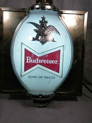 $ CDN119.95 • Buy Vintage Budweiser Bubble Dome Lighted Sign