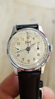 $ CDN634.60 • Buy Vintage Bovet & Freres & Co. Chronograph Wristwatch Cal. 51