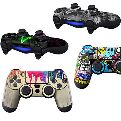 AU3.66 • Buy For PS4 Decal Skin For Playstation 4 Sticker Decal Controller Console Cover Set