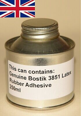 £13.95 • Buy NEW Bostik 3851 Rubber Latex Glue Products!!