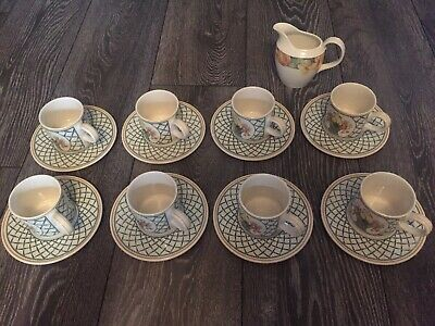 8 Piece Coffee Set Villeroy & Boch Bone China  • 40£
