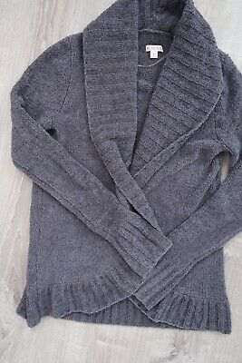 $9 • Buy Women's Merona Size Medium M Open Front Shawl Cardigan Sweater