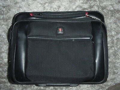 Wenger Swiss Gear Comp-U-Roller Wheeled Laptop Notebook Luggage Case Travel Bag • 20£