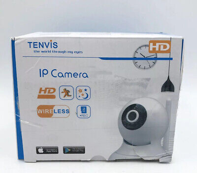 £24.78 • Buy TENVIS HD Wireless Security Camera IP Camera With Night Vision/Two-Way Audio