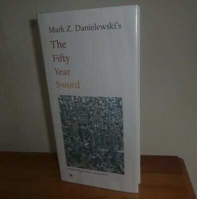 £246.61 • Buy Mark Danielewski - The Fifty-Year Sword - RARE SIGNED  - House Of Leaves