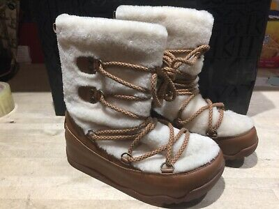 Girls Fitflop Winter Boots Uk 3 • 19.99£