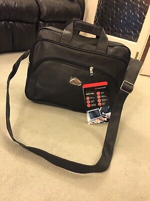 COMPASS Briefcase/Business/Travel/Work/Sport /Laptop/gym Bag Great Gift • 25£