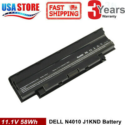 $13.95 • Buy Battery For Dell Inspiron N4110 N4010 N5010 N5110 N7110 M5010 M3010 J1KND 04YRJH