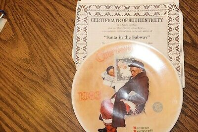 $ CDN38.28 • Buy 8 Norman Rockwell Plates-Knowles