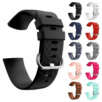$ CDN8.49 • Buy UK STOCK Fitbit Charge 3 Replacement Wrist Strap Spare Straps Smart Watch Band