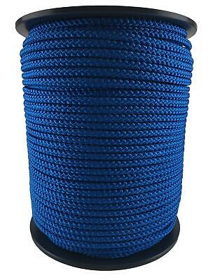 $22.60 • Buy Blue Bondage Rope, Soft To Touch Rope - Select Your Diameter And Lot Length