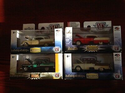 $ CDN35 • Buy M2 MACHINES 1/64 1955 CHEVROLET BEL AIR HARDTOP LOT X 4
