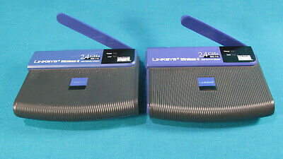 $9.99 • Buy Linksys WUSB11v4 & WUSB11 Ver. 2.8 USB Wireless Network Adapters - Used
