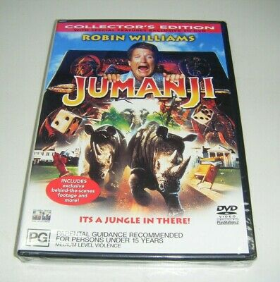 AU8.99 • Buy New Sealed DVD - Jumanji (Collector's Edition) [B8]