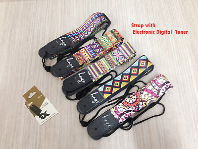 AU17.60 • Buy Haze Polyester Printed Ukulele Strap With  Electronic Digital Tuner