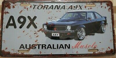 AU13.45 • Buy HOLDEN TORANA A9X Metal Signs Australian Muscle Cars MAN CAVE SHED BAR