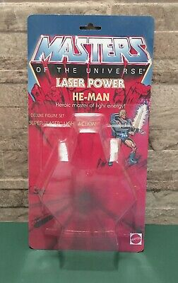 $14.99 • Buy Masters Of The Universe Laser Power He-Man Custom Card, Blister, Bubble