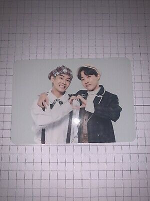 $9 • Buy BTS - Unit J-hope/V 1/4 5th Muster Mini Photo Card Korea
