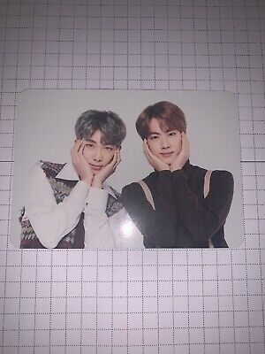 $9 • Buy BTS - Unit RM/Jin 1/4 5th Muster Mini Photo Card Korea