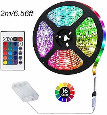 $15.59 • Buy ACONDE Battery Powered LED Strip Lights, Remote Controlled, Multi-Color