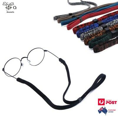 AU5.90 • Buy Sunglasses Eyeglasses Anti-slip Lanyard Glasses Cord Adjustable Strap