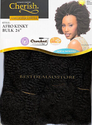 £7.75 • Buy Cherish Afro Kinky Bulk Afro Twist Hair Extensions 24  - New & Improved