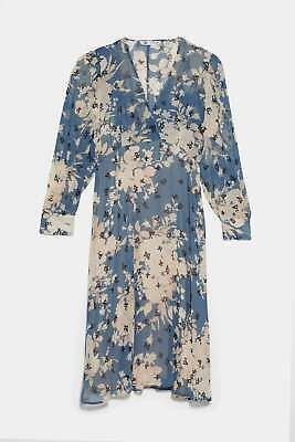$53.10 • Buy Zara Floral Print Dress Size Xl #0474