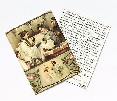 £1.75 • Buy PRAYER FOR THE BAPTISM OF A CHILD - Beautiful Prayer Card