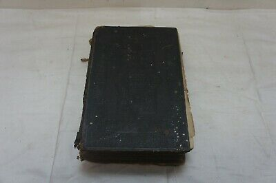 Antique British And Foreign Bible Society Holy Bible Eyre & Spottiswoode 1837 • 29.99£