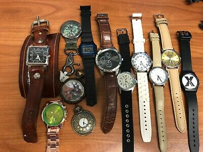 AU16.05 • Buy Lot Of 12 Working Men's Dress And Casual Watches