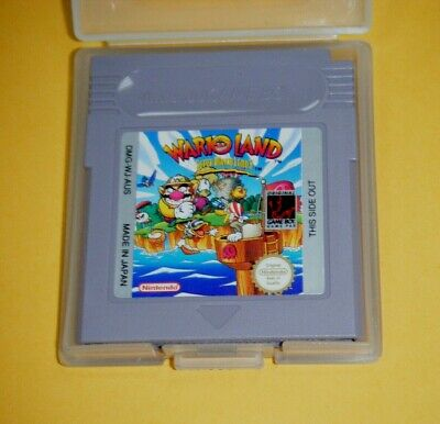 AU29.99 • Buy Nintendo Gameboy Game With Plastic Case -  Wario Land Super Mario Land 3