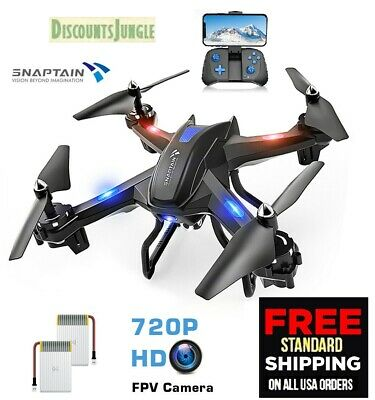 $21.95 • Buy Holy Stone HS170 Predator Mini Drone Helicopter& HS110 HD Live Video WiFi Camera