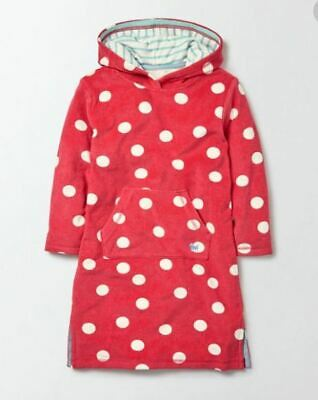 Mini Boden Spotted Towelling Beach Dress Age 3-4y LN001 QQ 04 • 22.99£