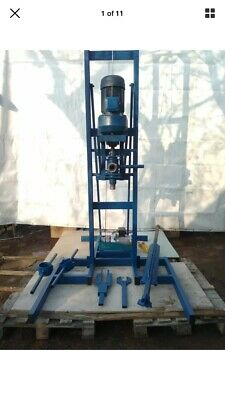 Bargain Water Drill Rig Borehole Ready Use 50 Meters Rods Diamond Drill Bits • 4,500£