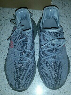 AU100 • Buy Girls US Size 5 Adidas Yeezy Boost 350 V2 Grey Sneakers