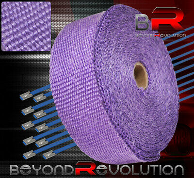 $ CDN32.63 • Buy 360  30Ft Heat Reduction Wrap Shield Cover Catback Exhaust Intake Piping Purple