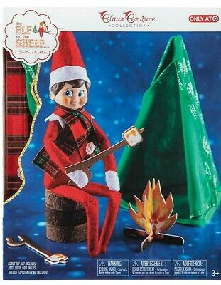 AU22.70 • Buy Elf On The Shelf Claus Couture Cheery Christmas Camper Outfit Accessory BPO19043