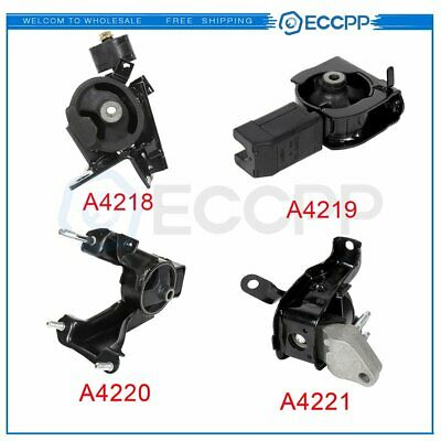$61.32 • Buy Engine Motor & Trans Mount For Toyota Corolla 1.8L 2003-2008 Automatic 4pcs