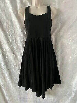 AU20 • Buy Gorgeous   TIGERLILY   Black 'Aythna' Open Back Dress Size 8