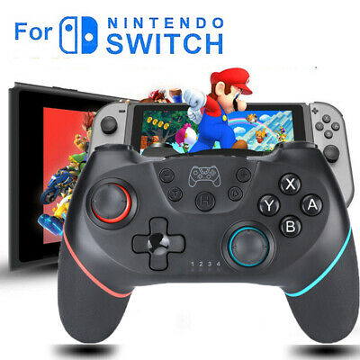 $3.25 • Buy Black Wireless Pro Controller Gamepad Joypad Remote For Nintendo Switch Console
