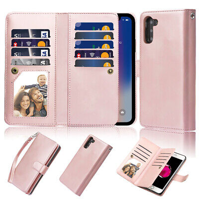 $ CDN24.99 • Buy For Galaxy Note 8 Case S8 Wallet Card Holder Detachable Strap Hybrid Shockproof
