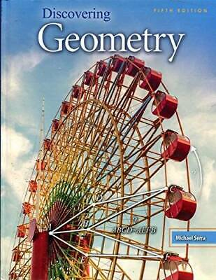 $160.14 • Buy Discovering Geometry - Student Edition + 6 Year Online License - VERY GOOD