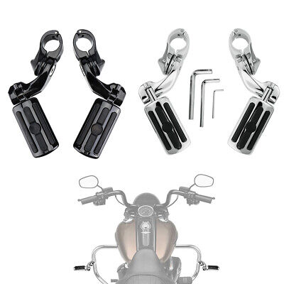 $54.99 • Buy Highway Pegs Footpegs Footrest 32mm Engine Bar For Aftermarket Harley Parts